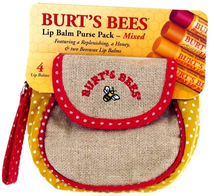 DROPPED: Burt's Bees - Purse Pack Mixed Lip Balms - 0.6 oz.