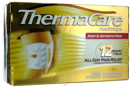 DROPPED: ThermaCare - Joint & Arthritis Pain Knee & Elbow 2 heatwraps