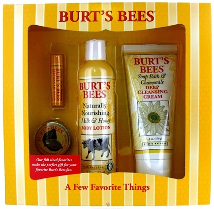 DROPPED: Burt's Bees - A Few Favorite Things Gift Set - CLEARANCE PRICED