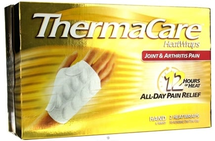 DROPPED: ThermaCare - Joint & Arthritis Pain Hand & Wrist 2 Heatwraps - CLEARANCE PRICED