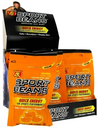 Jelly Belly - Sport Beans Energizing Jelly Beans Orange - 1 oz.