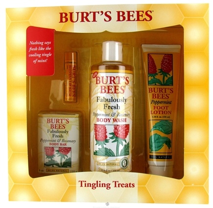 DROPPED: Burt's Bees - Tingling Treats Gift Set - CLEARANCE PRICED