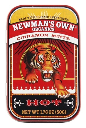 Newman's Own Organics - Mints Tin Cinnamon Cinnamon - 1.76 oz.