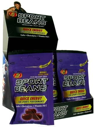 Jelly Belly - Sport Beans Energizing Jelly Beans Berry - 1 oz.