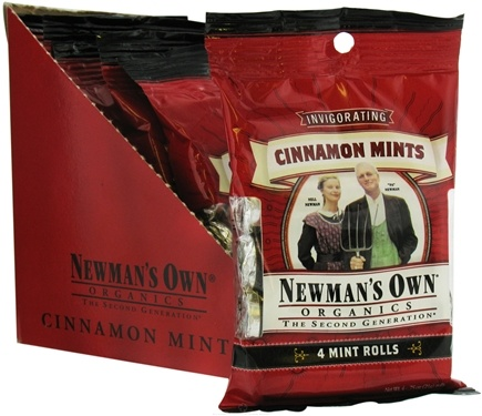 DROPPED: Newman's Own Organics - Mints Cinnamon Pack - 4 Roll(s)
