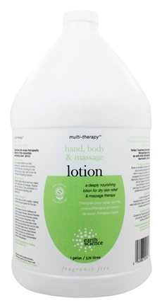 Earth Science - Multi-Therapy Hand, Body & Massage Lotion - 1 Gallon
