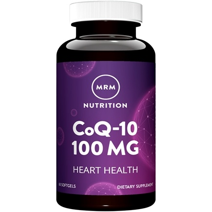MRM - CoQ-10 Enhanced Absorption 100 mg. - 60 Softgels