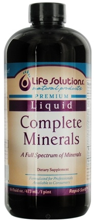DROPPED: Life Solutions - Complete Minerals Liquid - 16 oz.