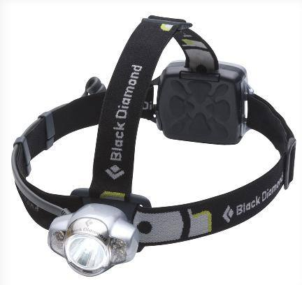 DROPPED: Black Diamond - Icon Headlamp Silver