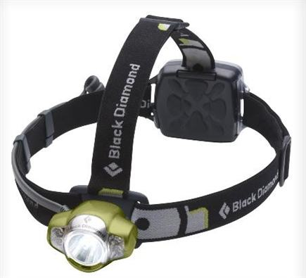 DROPPED: Black Diamond - Icon Headlamp Lime