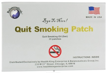 DROPPED: Balanceuticals - Quit Smoking Patch with Oil - 20 Patch(es)