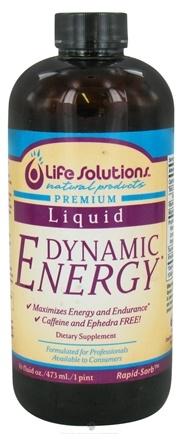 DROPPED: Life Solutions - Dynamic Energy Liquid - 16 oz. CLEARANCE PRICED