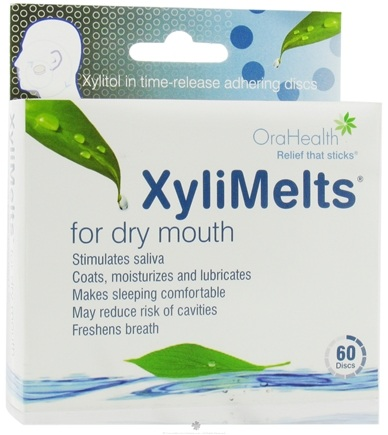 DROPPED: OraHealth - XyliMelts For Dry Mouth Mild Mint - 60 Disc(s)