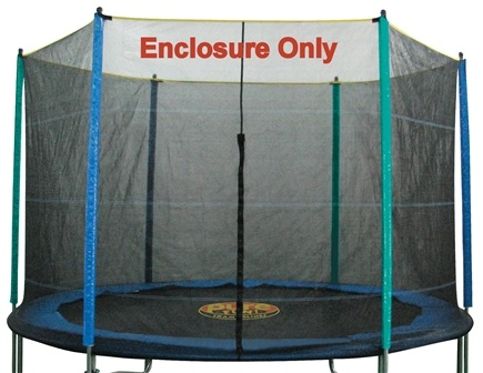 DROPPED: Pure Fun Trampolines - Enclosure and Safety Net for Trampoline 9112E - 12 ft.
