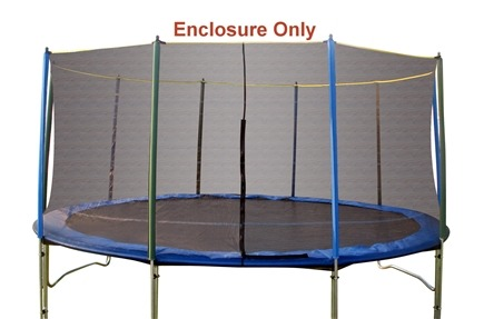 DROPPED: Pure Fun Trampolines - Enclosure and Saftey Net for Trampoline 9115E - 15 ft.