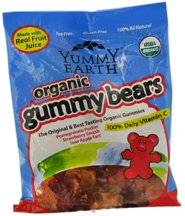 DROPPED: Yummy Earth - Organic Gummy Bears - 5 oz.