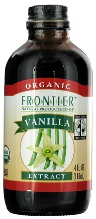 DROPPED: Frontier Natural Products - Organic Extract Vanilla - 4 oz.