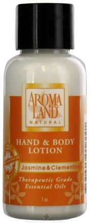 DROPPED: AromaLand - Natural Hand & Body Lotion Jasmine & Clementine - 1 oz. CLEARANCE PRICED