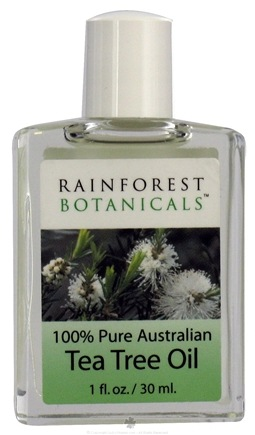 DROPPED: AromaLand - Rainforest Botanicals 100% Pure Australian Tea Tree Oil - 1 oz. CLEARANCE PRICED