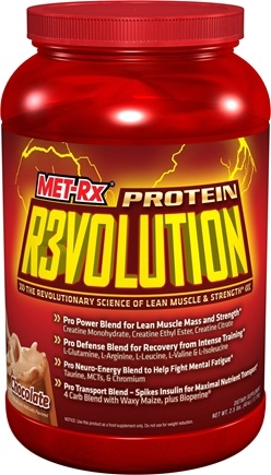 DROPPED: MET-Rx - Protein Revolution Powder Chocolate - 2.5 lbs. CLEARANCE PRICED