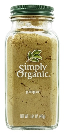 Simply Organic - Ginger - 1.64 oz.