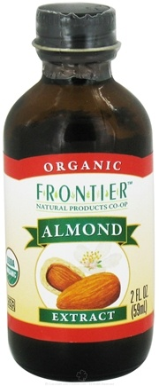 DROPPED: Frontier Natural Products - Organic Extract Almond - 2 oz. CLEARANCE PRICED