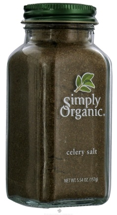 DROPPED: Simply Organic - Celery Salt - 5.54 oz. CLEARANCE PRICED