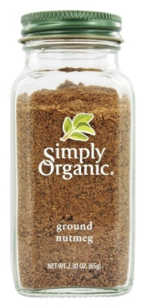 Simply Organic - Ground Nutmeg - 2.3 oz.
