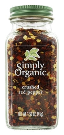 Simply Organic - Crushed Red Pepper - 1.59 oz.