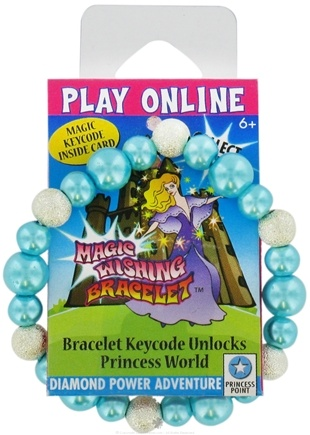 DROPPED: Zorbitz - Children's Magic Wishing Bracelet Diamond Power Adventure - CLEARANCE PRICED