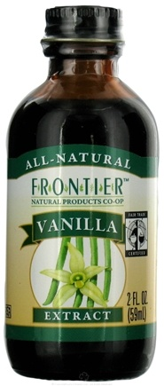 DROPPED: Frontier Natural Products - All-Natural Extract Vanilla - 2 oz.