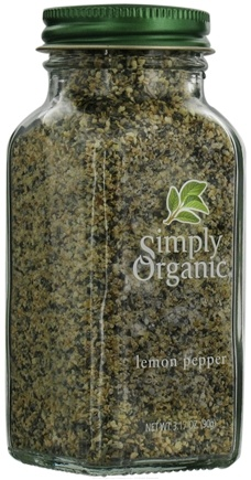DROPPED: Simply Organic - Lemon Pepper - 3.17 oz. CLEARANCE PRICED