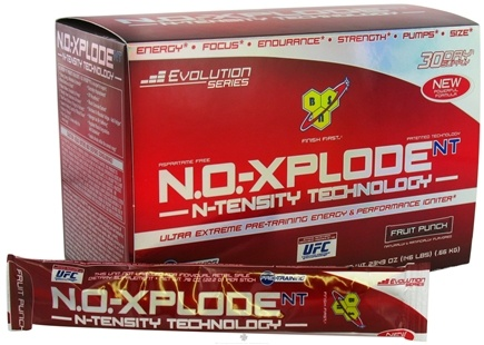 DROPPED: BSN - NO-Xplode NT Pre-Training Energy & Performance Igniter Fruit Punch - 30 Stick(s) CLEARANCE PRICED