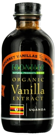 DROPPED: Frontier Natural Products - Organic Vanilla Extract Uganda - 2 oz. CLEARANCE PRICED