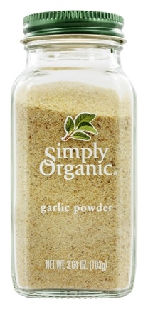 Simply Organic - Garlic Powder - 3.64 oz.