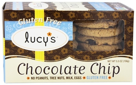 Lucy's - Gluten Free Cookies Chocolate Chip - 5.5 oz.