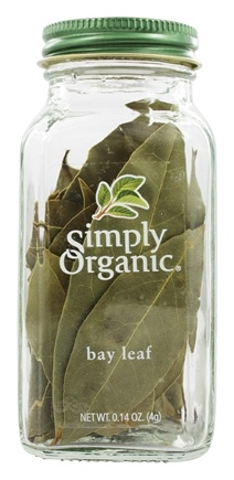 Simply Organic - Bay Leaf - 0.14 oz.