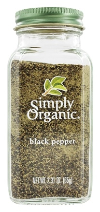 Simply Organic - Black Pepper - 2.31 oz.