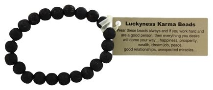 Zorbitz - Luckyness Karma Beads Wood Bracelet Assorted