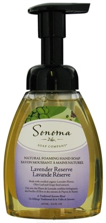 DROPPED: Sonoma Soap - Natural Foaming Hand Soap Lavender Reserve - 8.4 oz. CLEARANCE PRICED