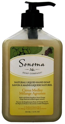 DROPPED: Sonoma Soap - Natural Liquid Hand Soap Citrus Medley - 12 oz. CLEARANCE PRICED