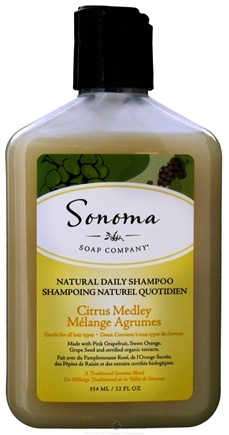 DROPPED: Sonoma Soap - Natural Daily Shampoo Citrus Medley - 12 oz. CLEARANCE PRICED