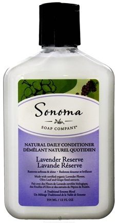DROPPED: Sonoma Soap - Natural Daily Conditioner Lavender Reserve - 12 oz. CLEARANCE PRICED