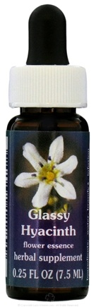 DROPPED: Flower Essence Services - Range of Light Dropper Glassy Hyacinth - 0.25 oz. CLEARANCE PRICED
