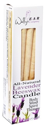 DROPPED: Wally's Natural Products - Ear Candle Lavender Beeswax - 12 Pack(s)