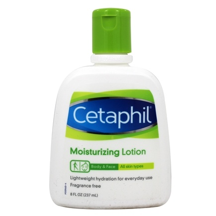 DROPPED: Cetaphil - Moisturizing Lotion For All Skin Types Fragrance-Free - 8 oz. CLEARANCE PRICED