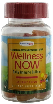DROPPED: Wellness NOW - Daily Immune Builder Lemon, Orange & Strawberry - 60 Chew(s)