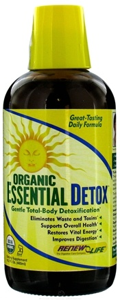 DROPPED: ReNew Life - Organic Essential Detox - 16.2 oz. CLEARANCE PRICED