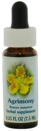 DROPPED: Flower Essence Services - Healing Herbs Dropper Argimony Flower Essence - 0.25 oz. CLEARANCE PRICED