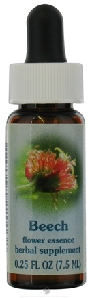 DROPPED: Flower Essence Services - Healing Herbs Dropper Beech - 0.25 oz. CLEARANCED PRICED